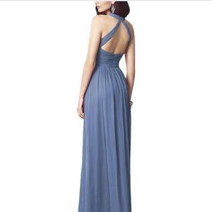 Dessy Collection Dresses - Larkspur color bridesmaid dress